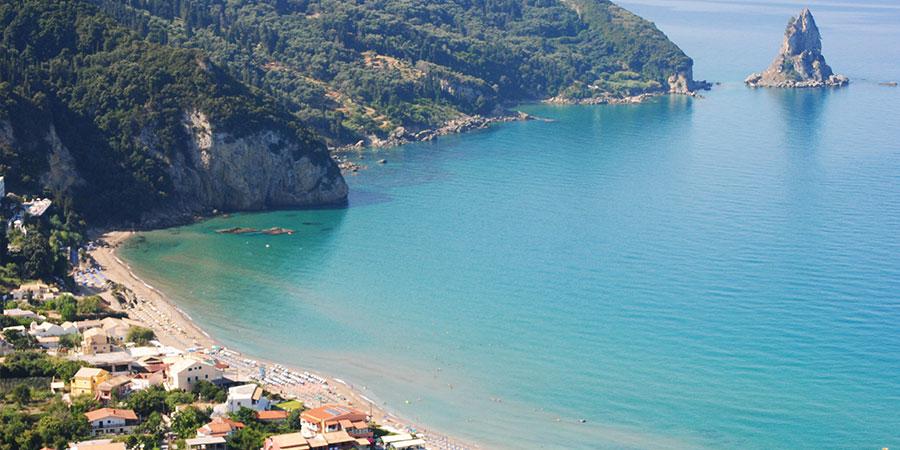 corfu agios gordios beach corfu beaches greeka anak abg